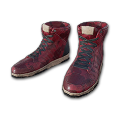 Skins Red Hi-top Trainers