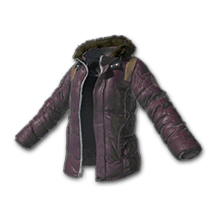Skins Padded Jacket (Purple)