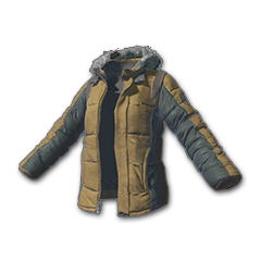 Skins Padded Jacket (khaki)