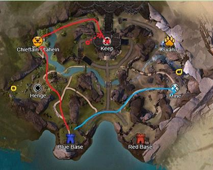 Forest of Niflhel map