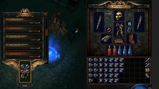 the path of exile forsaken masters voric s socket crafting preview