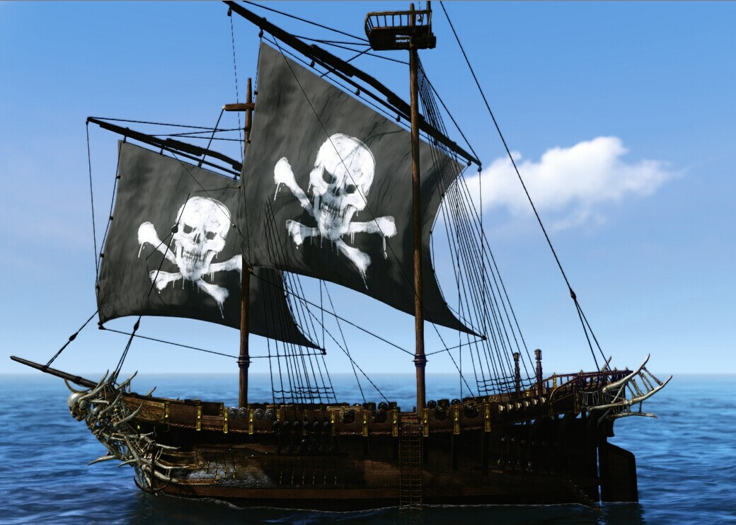 Archeage Online Guides: The Black Pearl Pirate Ship