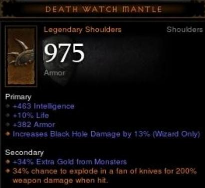 death watch mantle