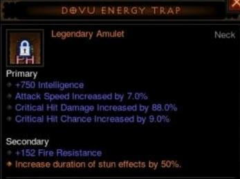 dovu energy trap
