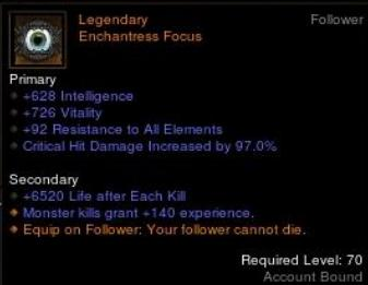 enchantress focus