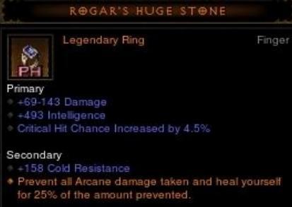 rogar's huge stone