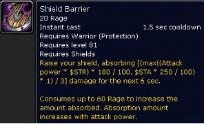 Damage Immune Skills Of Protection Warrior In Mop
