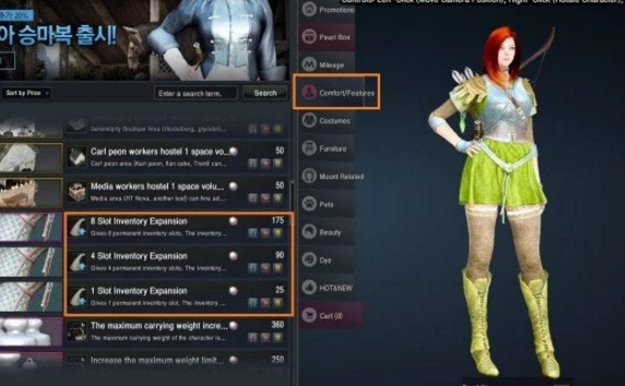 black desert stable slots