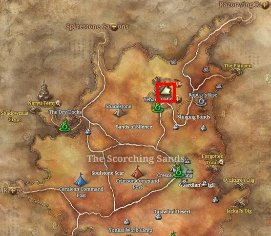 blade and soul obsidian serpent location.jpg