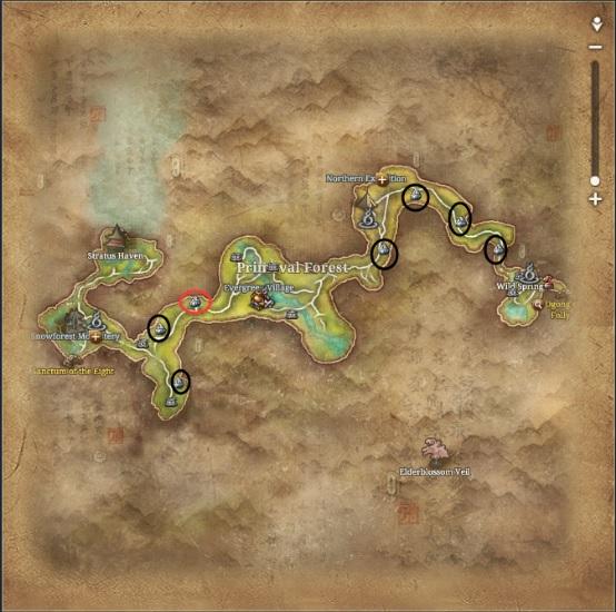 How To Acquire Silverfrost Quartz Fast: Silverfrost Quartz Locations Map