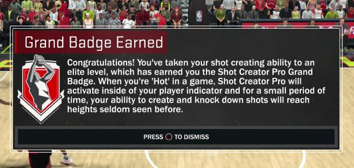 Nba 2k17 Get Difficult Shot Badge – Fondos de Pantalla