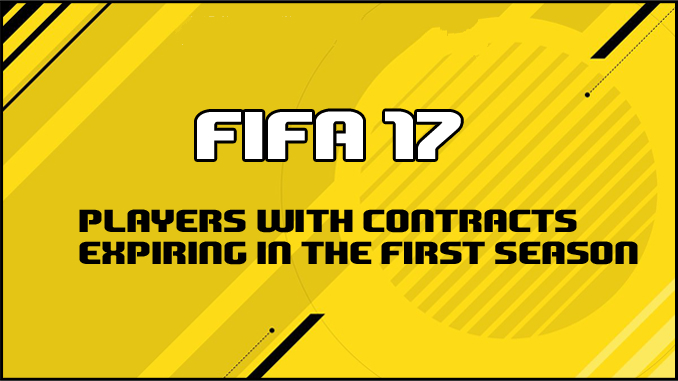 fifa 17 contracts expiring