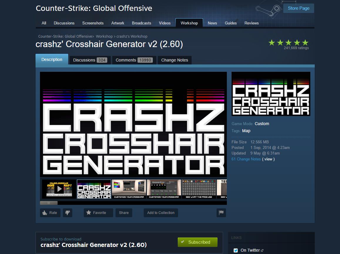 Csgo Crosshair Setting Guide: How To Use Crashz' Crosshair