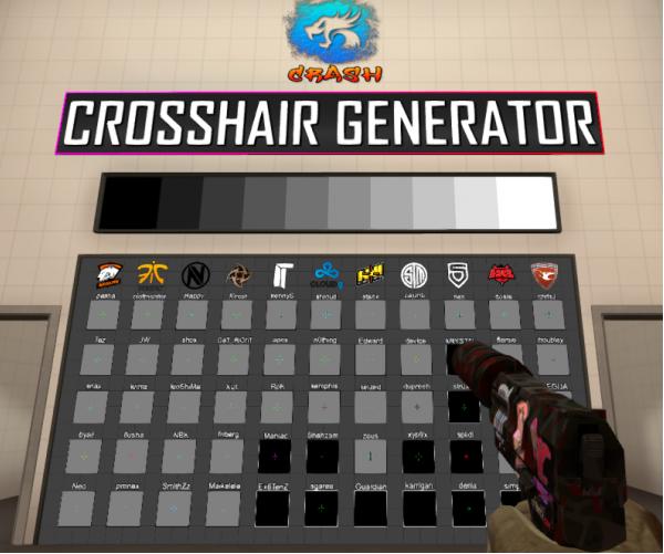 Csgo custom crosshair