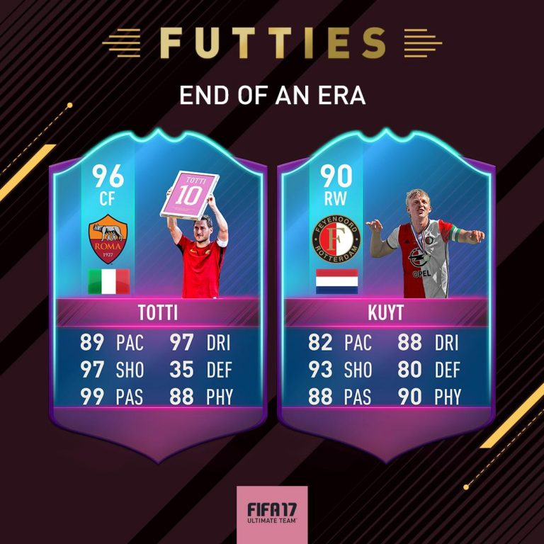 FIFA 17 End of An Era SBC