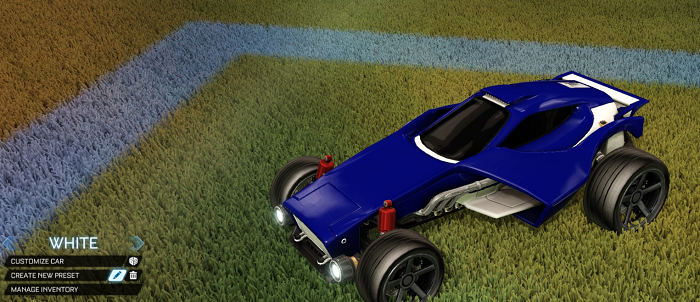 Rocket League Rare Tradeup - New Painted Breakout, Octane and Merc-venom white