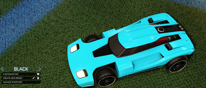 Rocket League Rare Tradeup - New Painted Breakout, Octane and Merc-breakout black