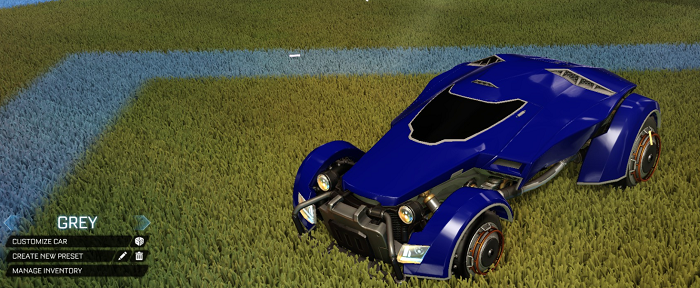 Rocket League Rare Tradeup - New Painted Breakout, Octane and Merc-x devil grey