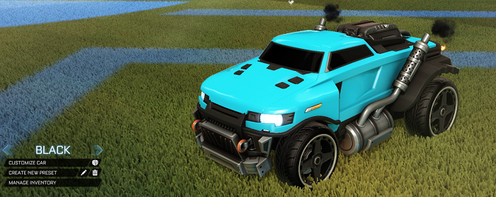Rocket League Rare Tradeup - New Painted Breakout, Octane and Merc-roadhog black