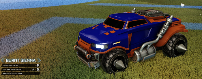 Rocket League Rare Tradeup - New Painted Breakout, Octane and Merc-roadhog burnt sienna