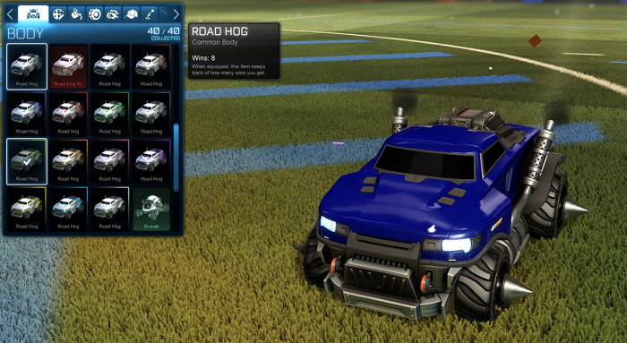 Rocket League Rare Tradeup - New Painted Breakout, Octane and Merc-roadhog default