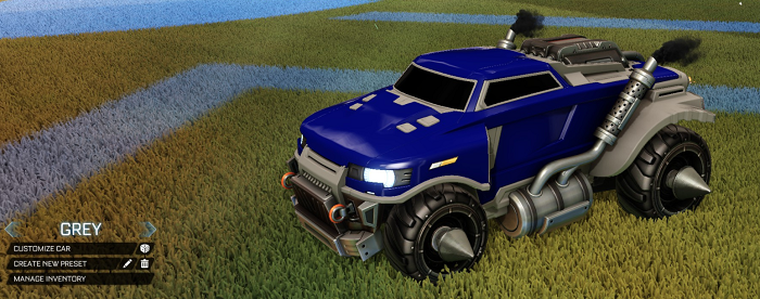 Rocket League Rare Tradeup - New Painted Breakout, Octane and Merc-roadhog grey