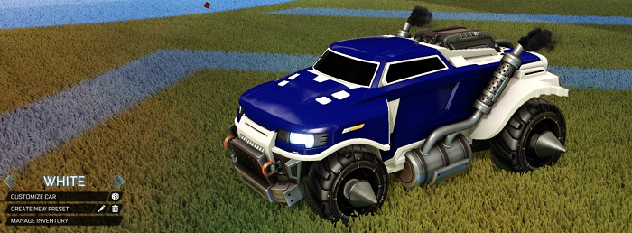 Rocket League Rare Tradeup - New Painted Breakout, Octane and Merc-roadhog white