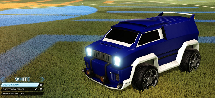 Rocket League Rare Tradeup - New Painted Breakout, Octane and Merc-merc white