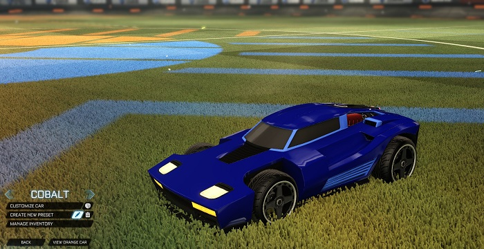 Rocket League New Painted Cars Bodies - Painted Breakout - Cobalt