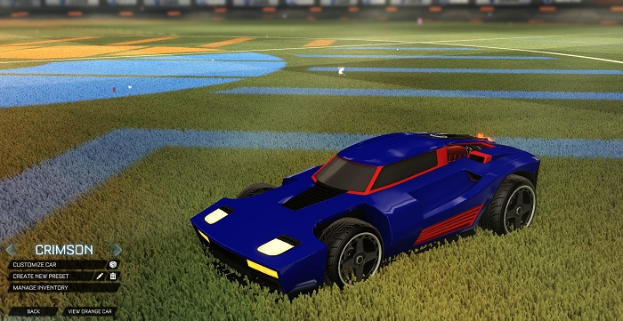 Rocket League New Painted Cars Bodies - Painted Breakout - Crimson