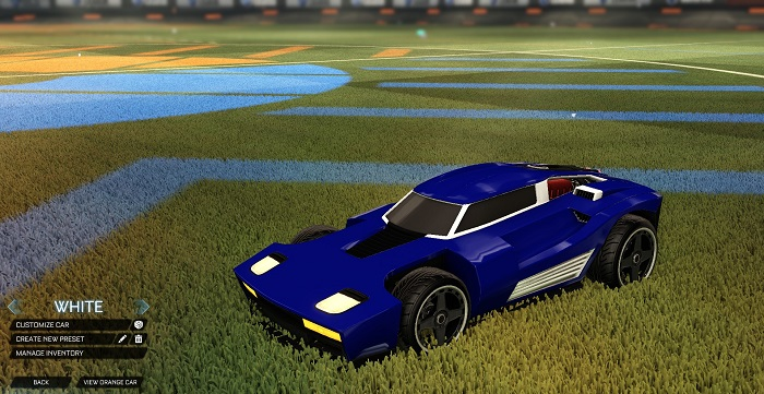 Rocket League New Painted Cars Bodies - Painted Breakout - White