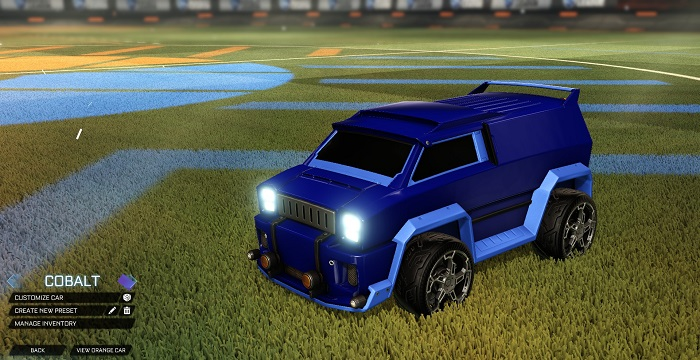 Rocket League New Painted Cars Bodies - Painted Merc - Cobalt