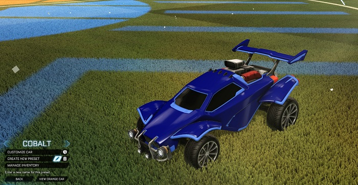 Rocket League New Painted Cars Bodies - Painted Octanes - Cobalt