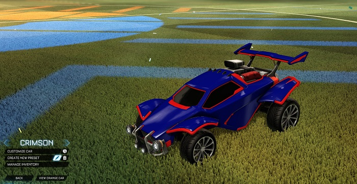 Rocket League New Painted Cars Bodies - Painted Octanes - Crimson