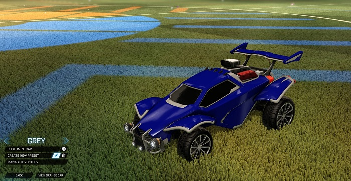 Rocket League New Painted Cars Bodies - Painted Octanes - Grey