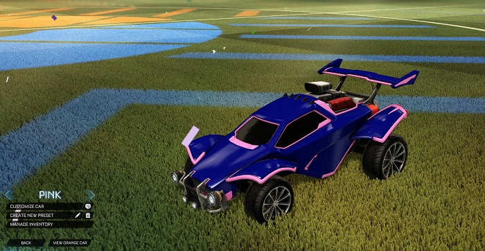 Rocket League New Painted Cars Bodies - Painted Octanes - Pink