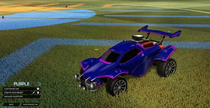 Rocket League New Painted Cars Bodies - Painted Octanes - Purple