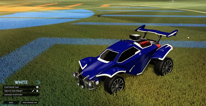 Rocket League New Painted Cars Bodies - Painted Octanes - White