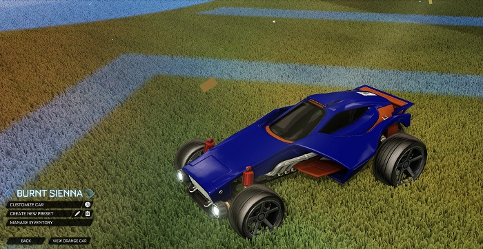 Rocket League New Painted Cars Bodies - Painted Venom - Burnt Sienna