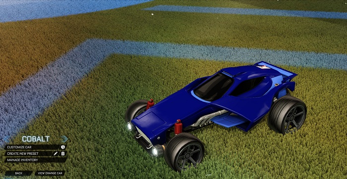 Rocket League New Painted Cars Bodies - Painted Venom - Cobalt