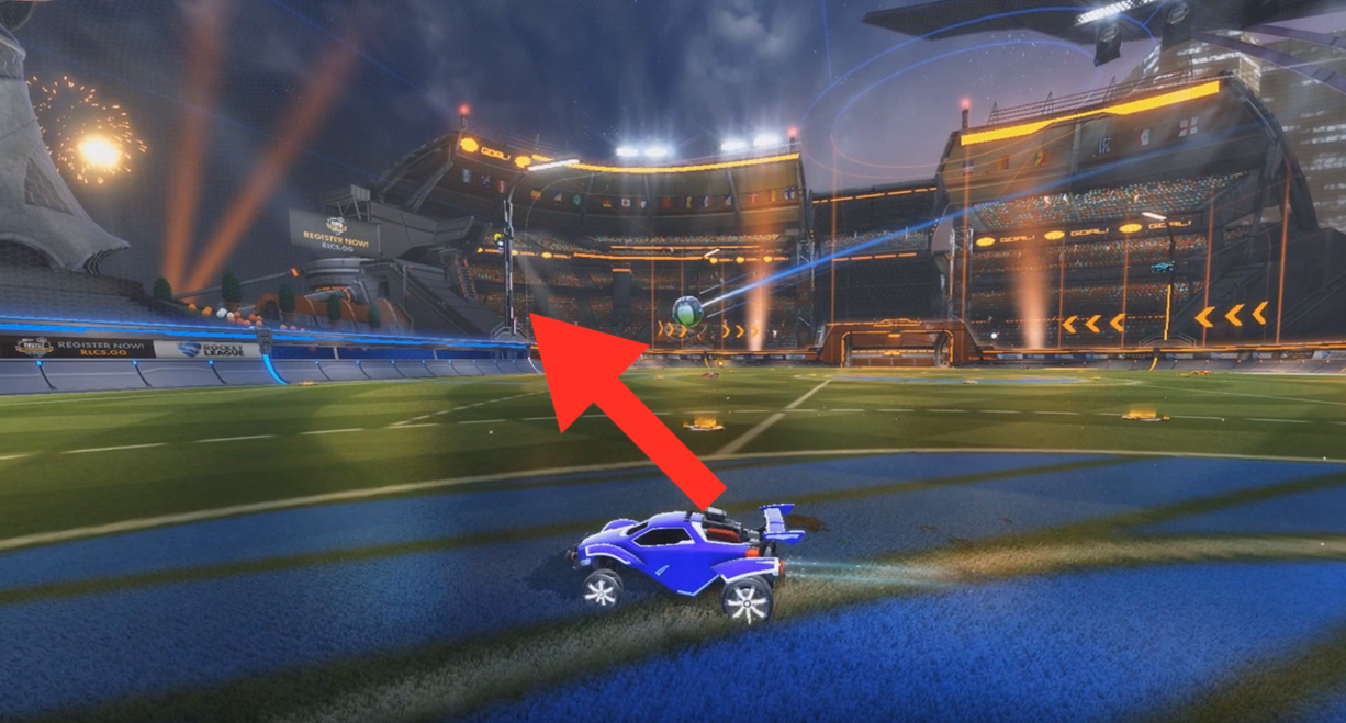 Rocket League Tips - How to Powershot in Rocket League-aerial powershots 1