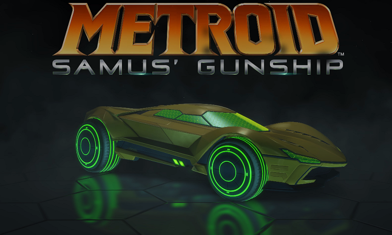 Rocket League Exclusive Nintendo Switch Battle-Cars - Metroid Samus' Gunship