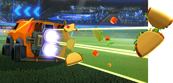Rocket League Autumn Update New Items - Taco Boost