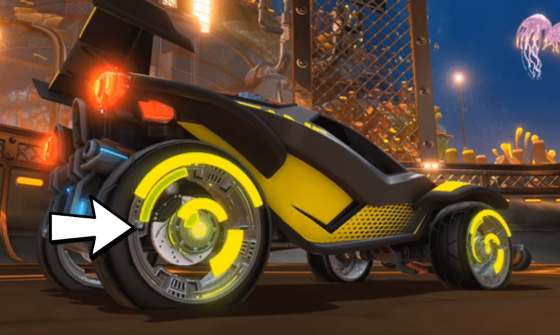 Rocket League Trading NEW ALL PAINTED Chrono Wheels regular