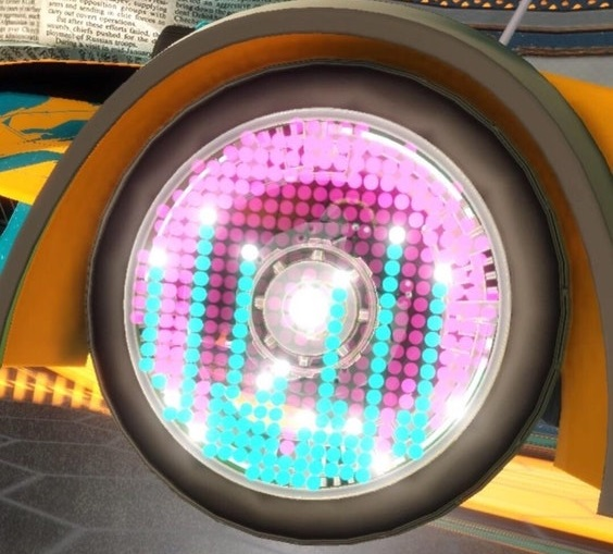 Rocket League Velocity Crate - Equalizer Wheels