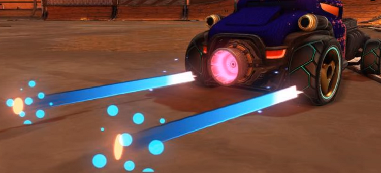 Rocket League Velocity Crate Items - Trail